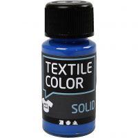 Textile Solid , opaco, azul brillante, 50 ml/ 1 botella