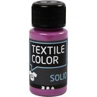 Textile Solid , opaco, fucsia, 50 ml/ 1 botella