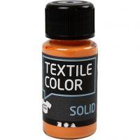 Textile Solid , opaco, naranja, 50 ml/ 1 botella
