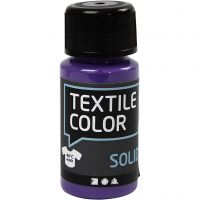 Textile Solid , opaco, morado, 50 ml/ 1 botella