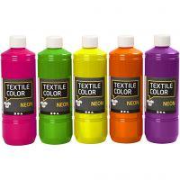 Textile Colour, surtido de colores, 5x500 ml/ 1 paquete