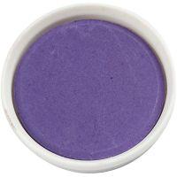 Acuarelas, dia: 30 mm, violeta, 12 ud/ 1 paquete