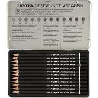 Set de dibujo ART Design, dureza F, 12 ud/ 1 paquete