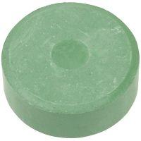 Acuarelas, A: 16 mm, dia: 44 mm, verde oscuro, 6 ud/ 1 paquete