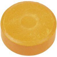 Acuarelas, A: 16 mm, dia: 44 mm, naranja, 6 ud/ 1 paquete