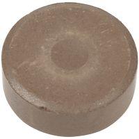 Acuarelas, A: 16 mm, dia: 44 mm, marrón, 6 ud/ 1 paquete