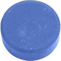 Acuarelas, A: 19 mm, dia: 57 mm, azul, 6 ud/ 1 paquete