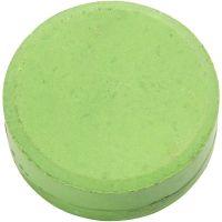 Acuarelas, A: 19 mm, dia: 57 mm, verde, 6 ud/ 1 paquete