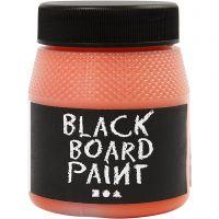 Pintura de pizarra, naranja, 250 ml/ 1 paquete