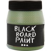 Pintura de pizarra, verde, 250 ml/ 1 paquete