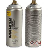 Laca en spray, glossy, 400 ml/ 1 bote