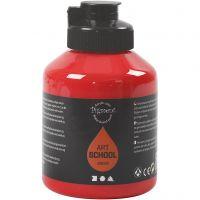 Pintura Pigment Art School, transparente, rojo cadmio, 500 ml/ 1 botella