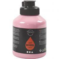 Pintura Pigment Art School, opaco, rosado polvoriento, 500 ml/ 1 botella