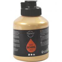 Pintura Pigment Art School, opaco, dorado, 500 ml/ 1 botella
