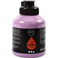 Pintura Pigment Art School, opaco, morado, 500 ml/ 1 botella