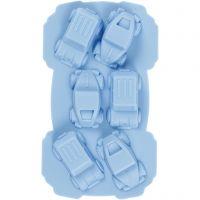 Molde de silicona, Coches, medida agujero 30x45 mm, 12,5 ml, 1 ud