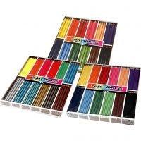 Lápices de colores Colortime, surtido de colores, 576 ud/ 1 paquete