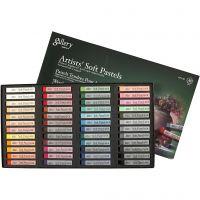 Pasteles Gallery - Soft, L. 6,5 cm, grosor 10 mm, surtido de colores, 48 ud/ 1 paquete