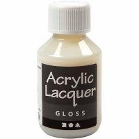 Barniz acrílico, glossy, 100 ml/ 1 botella