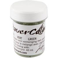 Paver Color, verde, 40 ml/ 1 botella