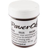 Paver Color, marrón, 40 ml/ 1 botella