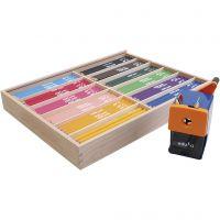Lápices de colores Edu Jumbo, mina 6,25 mm, surtido de colores, 12x12 ud/ 1 paquete