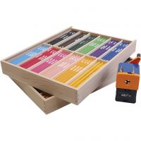 Lápices de colores Edu Jumbo, mina 6,25 mm, surtido de colores, 24x12 ud/ 1 paquete