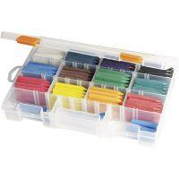 Ceras al oleo, surtido de colores, 12x20 ud/ 1 paquete