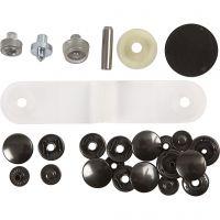 Botones de presión - set de inicio, dia: 15 mm, 1 set