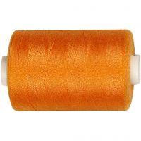 Hilo de coser, naranja, 1000 m/ 1 rollo