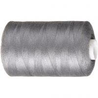 Hilo de coser, gris, 1000 m/ 1 rollo
