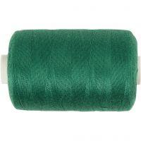 Hilo de coser, verde, 1000 m/ 1 rollo