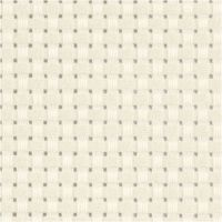 Tela Aida, medidas 50x50 cm, 35 cuadrados por 10 cm , blanquecino, 1 ud