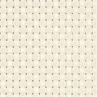 Tela Aida, A: 150 cm, 35 cuadrados por 10 cm , blanquecino, 3 m/ 1 ud
