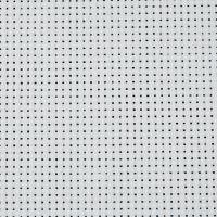 Tela Aida, A: 150 cm, 43 cuadrados por 10 cm , blanco, 3 m/ 1 ud