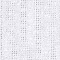 Tela Aida, A: 150 cm, 70 cuadrados por 10 cm , blanco, 3 m/ 1 ud