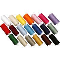 Hilo para coser de algodón, 20x1000 m/ 1 paquete