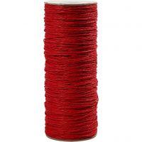 Cuerda de papel, grosor 1,8 mm, rojo, 470 m/ 1 rollo, 250 gr