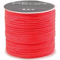 Cuerda de nylon, grosor 1 mm, salmón, 28 m/ 1 rollo