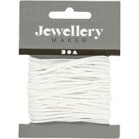 Cuerda de nylon, grosor 2 mm, blanco, 8 m/ 1 rollo
