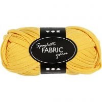 Hilo de tela, L. 35 m, amarillo, 100 gr/ 1 bola