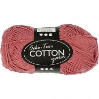 Hilo de algodón, medida 8/4, L. 170 m, arcilla, 50 gr/ 1 bola
