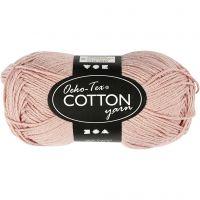 Hilo de algodón, medida 8/4, L. 170 m, polvo, 50 gr/ 1 bola
