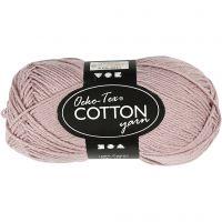 Hilo de algodón, medida 8/4, L. 170 m, lavanda, 50 gr/ 1 bola