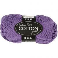 Hilo de algodón, medida 8/4, L. 170 m, morado, 50 gr/ 1 bola