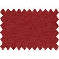 Tela de algodón, A: 145 cm, 140 gr, rojo navideño, 1 ml