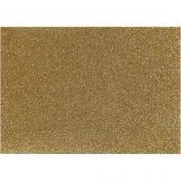 Foil para planchar, 148x210 mm, purpurina, dorado, 1 hoja