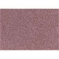 Foil para planchar, 148x210 mm, purpurina, rojo claro, 1 hoja