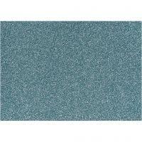 Foil para planchar, 148x210 mm, purpurina, azul claro, 1 hoja