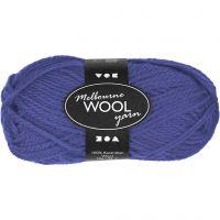 Melbourne lana, L. 92 m, azul, 50 gr/ 1 bola